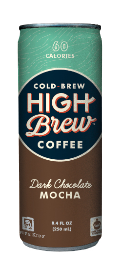 High Brew Coffee: HighBrew DarkChocolate
