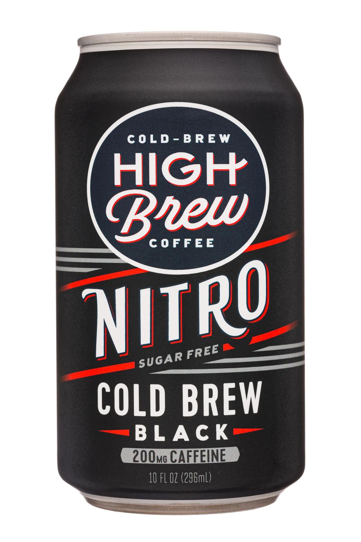 High Brew Coffee: HighBrew-12oz-2020-ColdBrew-Black20mg-Front