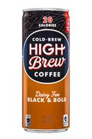 High Brew Coffee: HighBrew-Coffee-8oz-BlackBold-Front