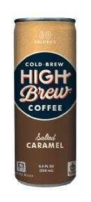 High Brew Coffee: HighBrew SaltedCaramel