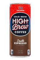 High Brew Coffee: HighBrew-Coffee-8oz-DoubleEspresso-Front