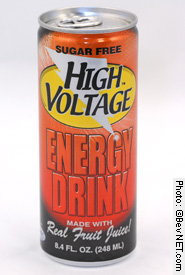 Sugar Free High Voltage Energy Drink