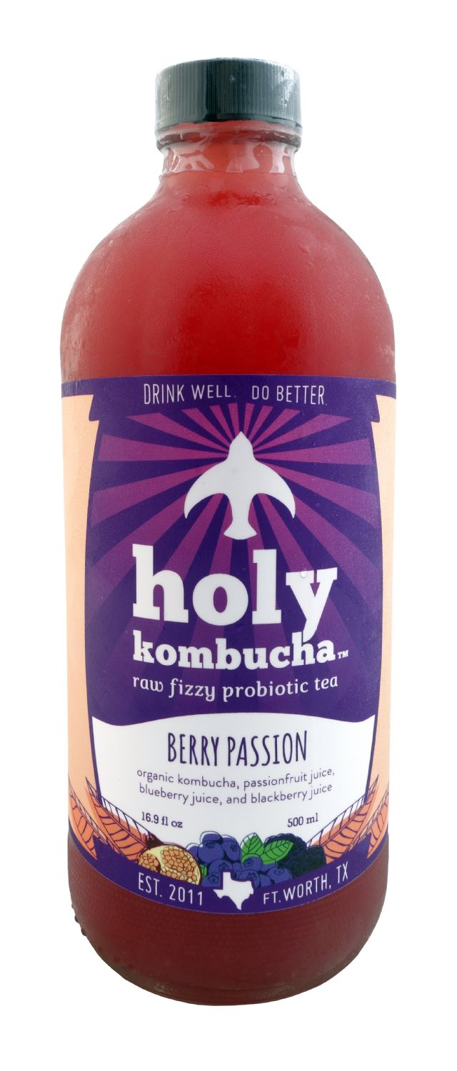Holy Kombucha: Holy BerryPassion Front