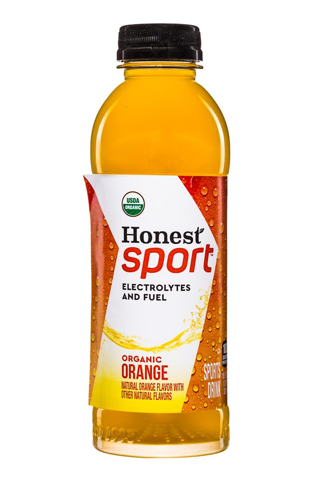 Honest Tea (Sport): Honest-Sport-17oz-Orange-Front