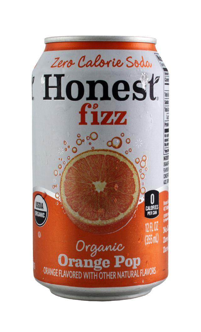 HONEST fizz: HonestFizz OranPop Front