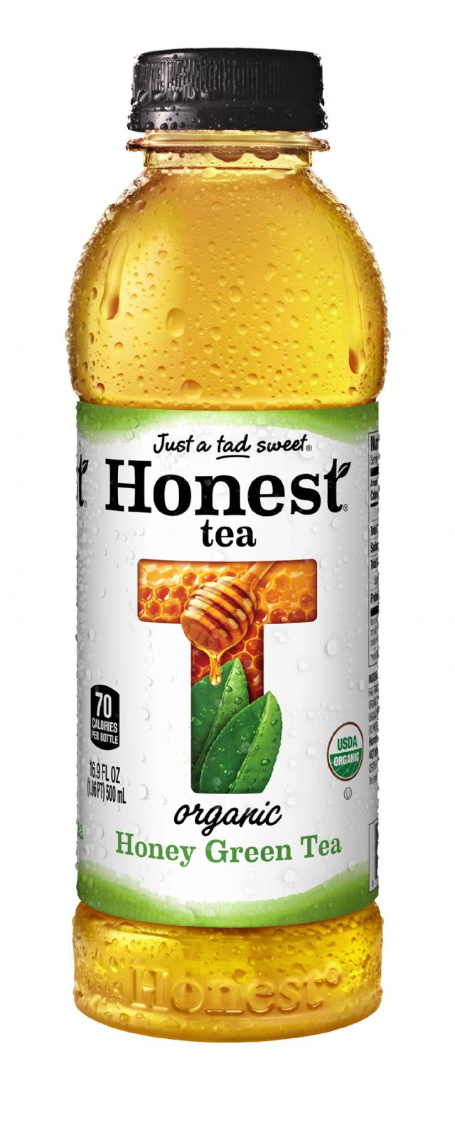 Honest Tea (PET): HonestPlastic HoneyGreen