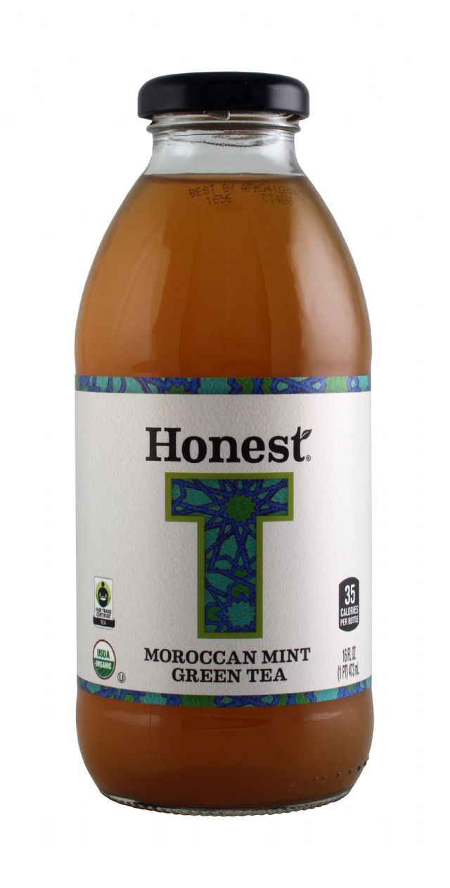 Honest Tea (Glass): Honest MoroccanMint Front