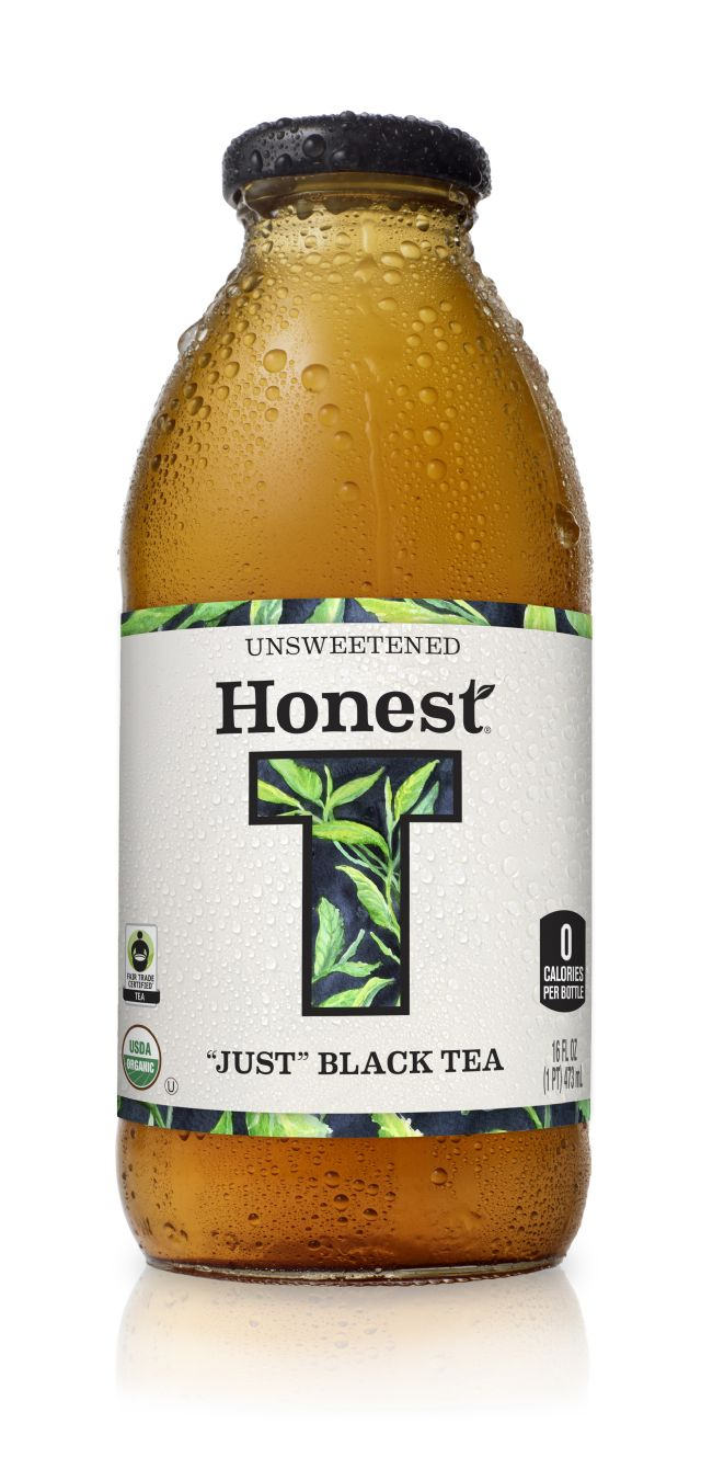 Honest Tea (Glass): Honest JustBlackTea