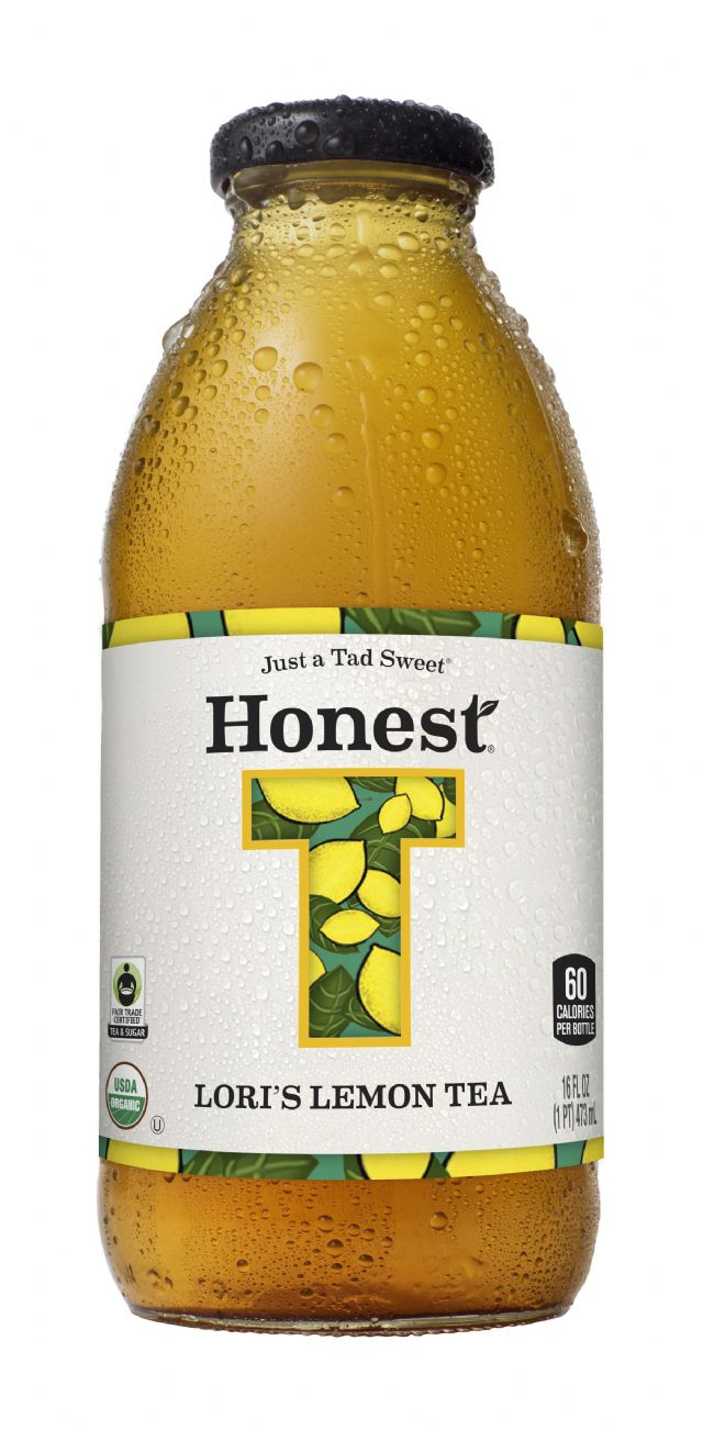 Honest Tea (Glass): HonestGlass LorisLemon