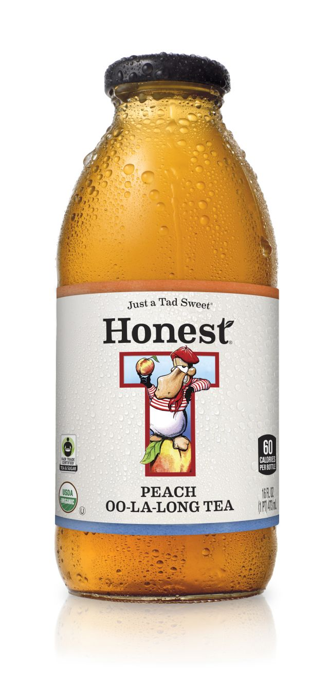 Honest Tea (Glass): Honest PeachOOLaLong