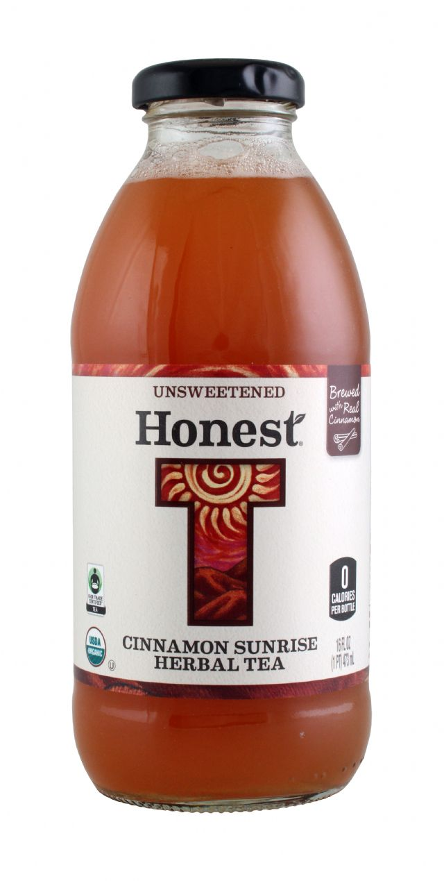 Honest Tea (Glass): Honest CinnamonSunrise