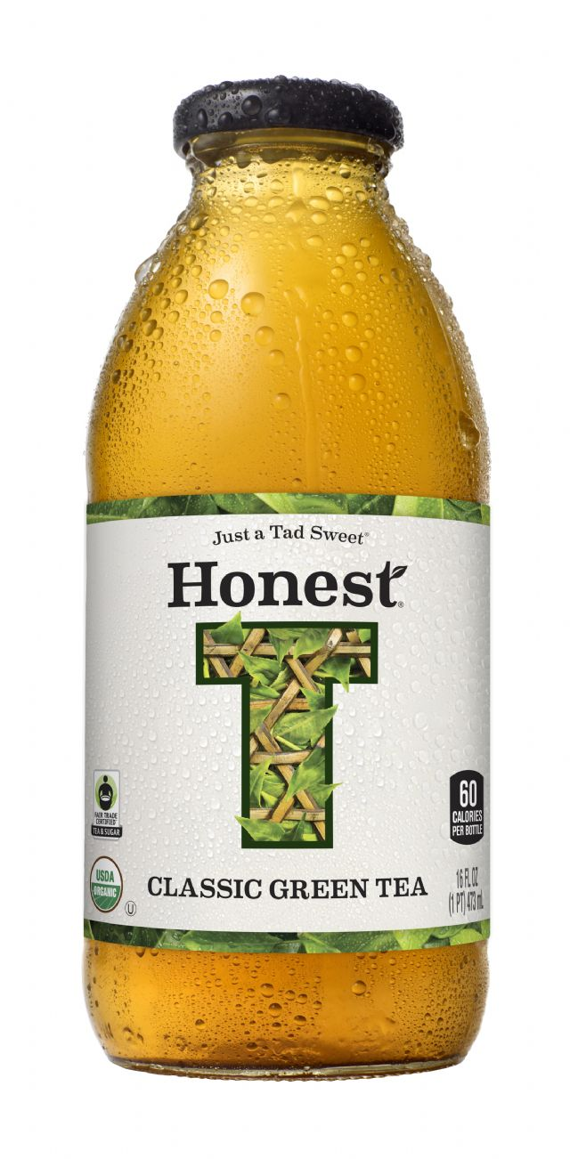 Honest Tea (Glass): HonestGlass ClassicGreen