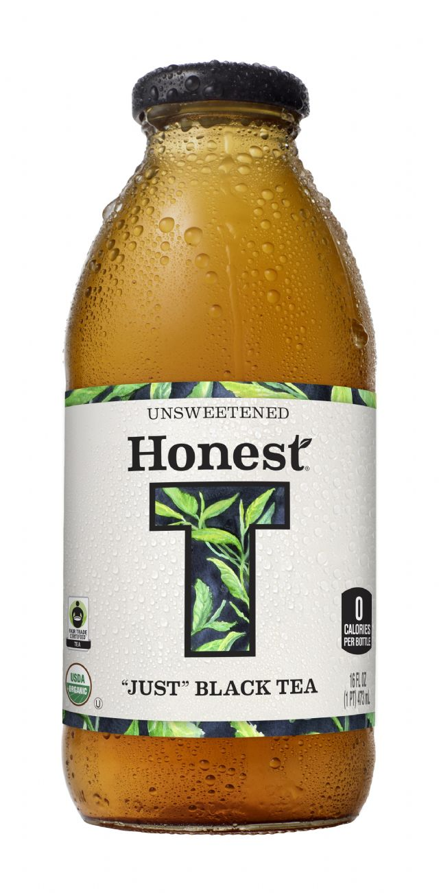 Honest Tea (Glass): HonestGlass JustBlack