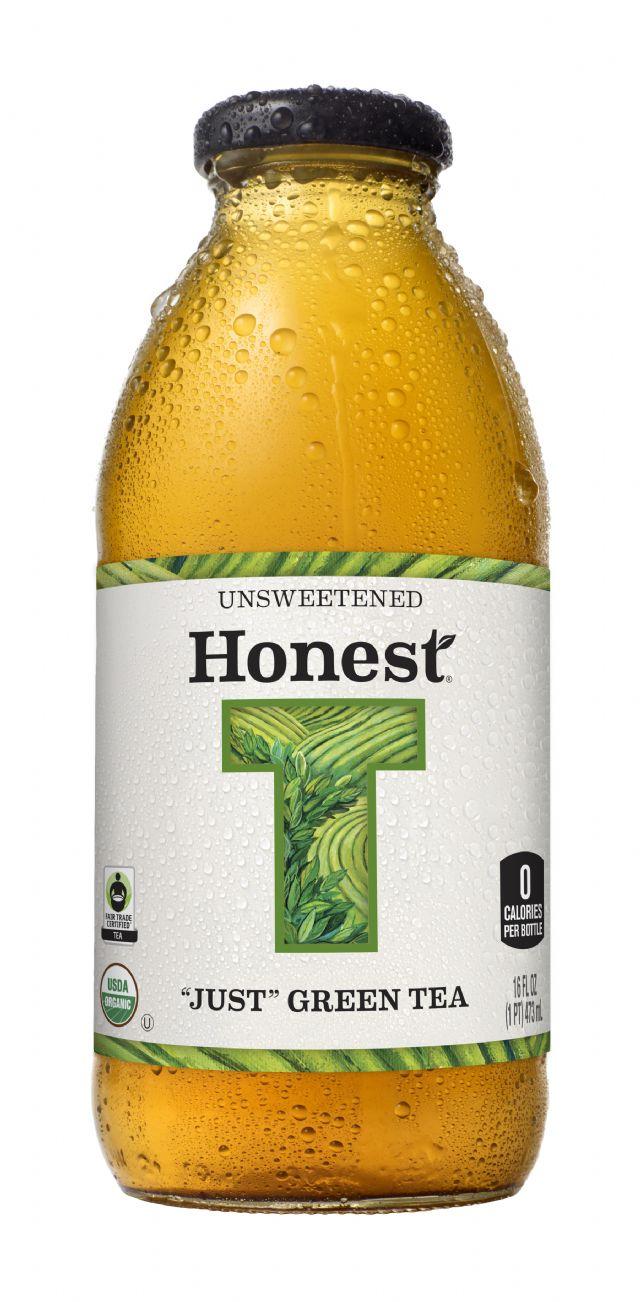 Honest Tea (Glass): HonestGlass JustGreen