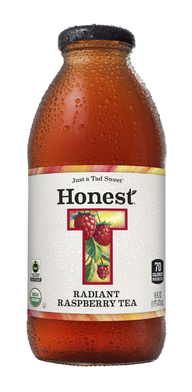 Honest Tea (Glass): HonestGlass RadiantRasp