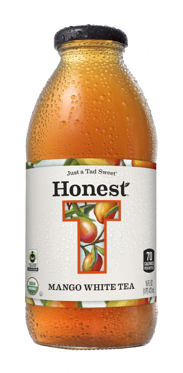 Honest Tea (Glass): HonestGlass MangoWhite