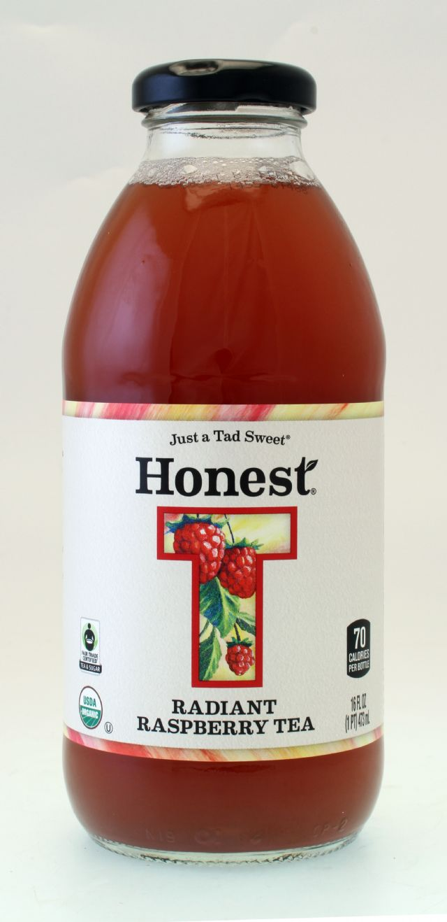 Honest Tea (Glass): Honest RadiantRasp Front