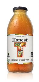Honest Tea (Glass): Honest MangoWhite