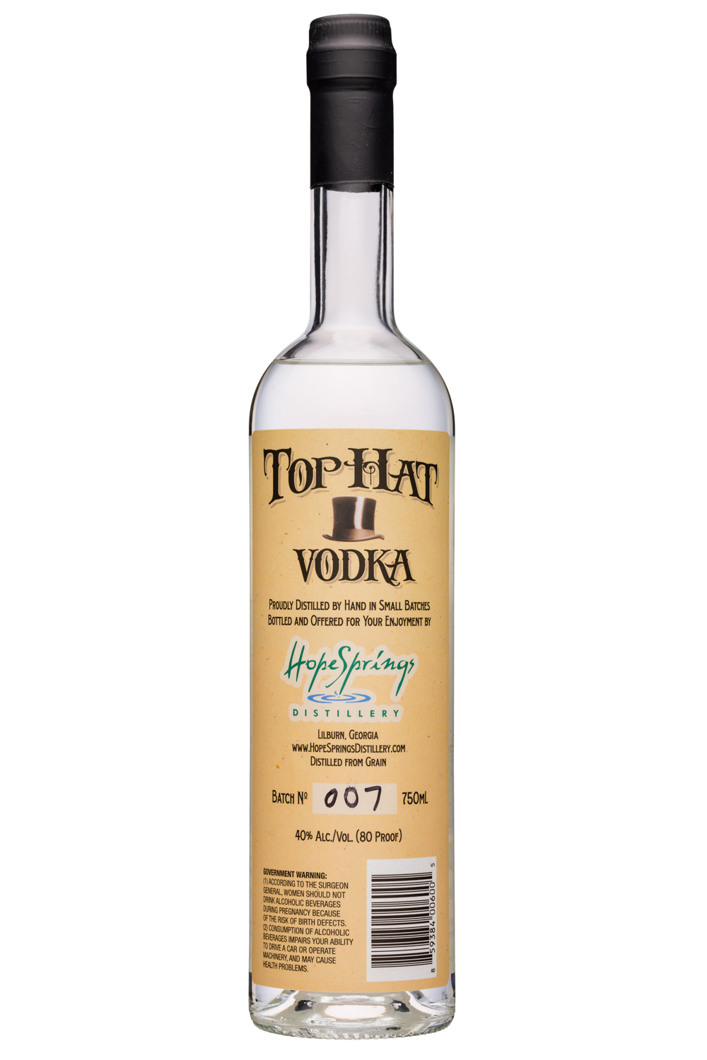 Top Hat Vodka