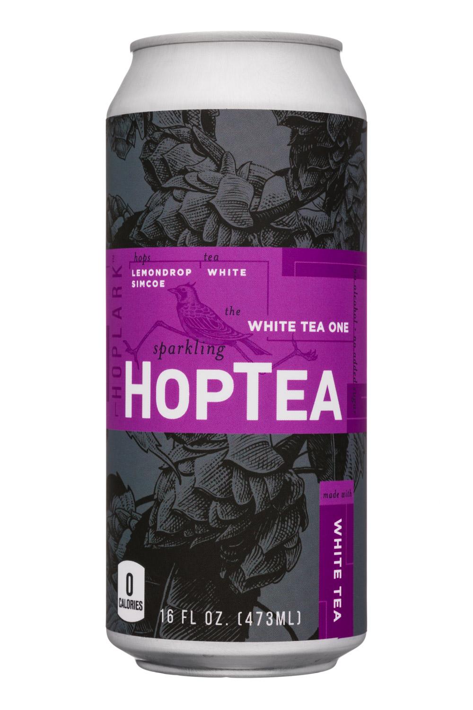 HopTea: HopLark-16oz-HopTea-WhiteTea-WhiteTeaOne-Front