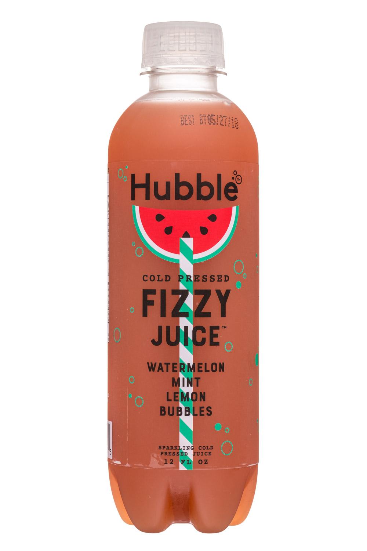 Hubble: Hubble-12oz-FizzyJuice-WatermelonMintLemon-Front