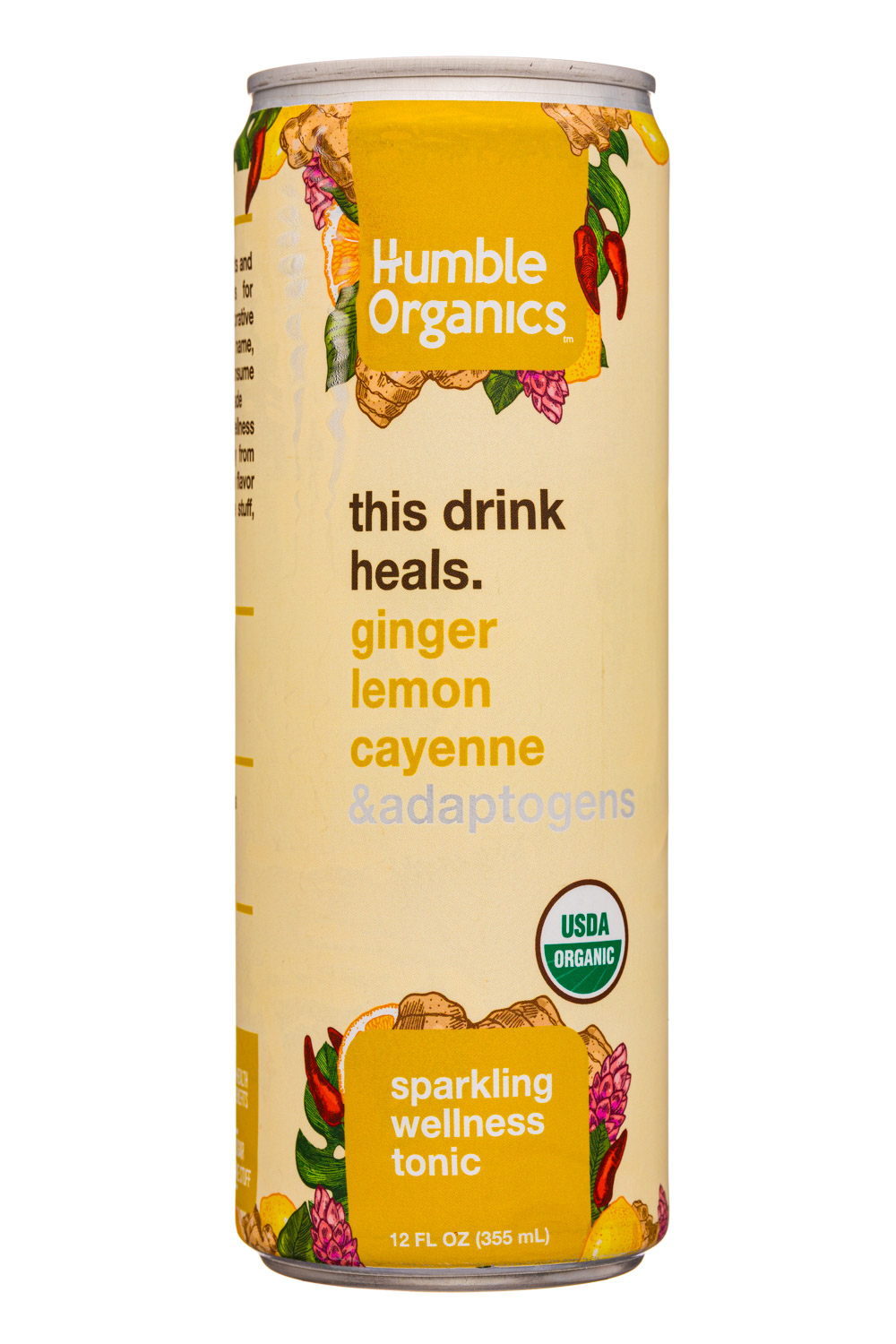 Ginger Lemon Cayenne & Adaptogens