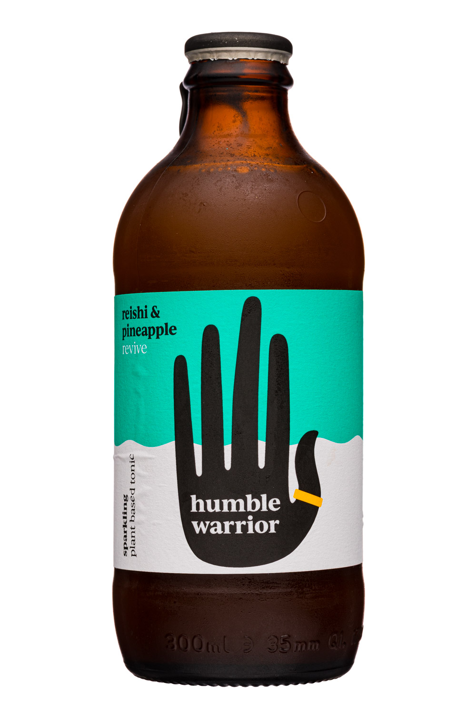 Humble Warrior: HumbleWarrior-300ml-ReishiPineapple-Front