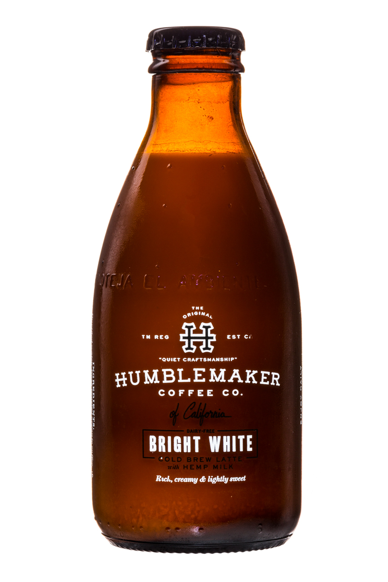 Humblemaker Coffee Co.: Humblemaker-ColdBrew-BrightWhite-Front