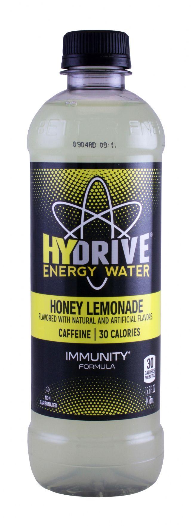 HYDRIVE Energy Drink: Hydrive HoneyLem Front