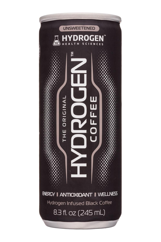 Hydrogen Health Sciences: HydrogenHealthSciences-8oz-Hydrogen-Coffee-Front