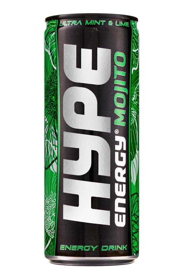 Hype Energy: HypeEnergy-MFP-Can-MinLime-Mojito-Front