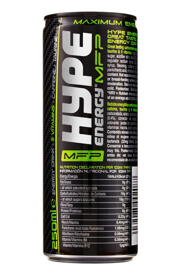 Hype Energy: HypeEnergy-MFP-Can-MaxEnergy-Facts