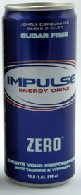 Impulse Zero--Zero Carbs-Zero Sugar-Zero Calories