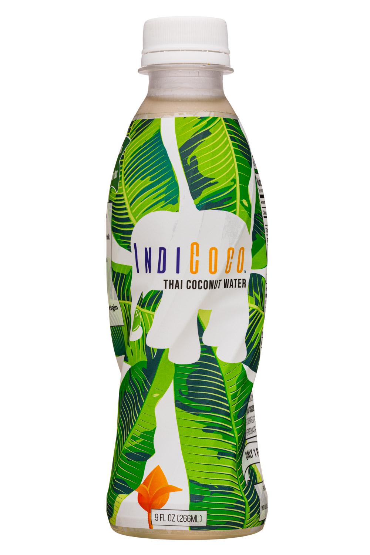 IndiCoco: IndiCoco-9oz-ThaiCoconut-Front