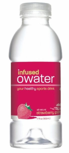 infused owater: Strawberry with Caffeine and Electrolytes