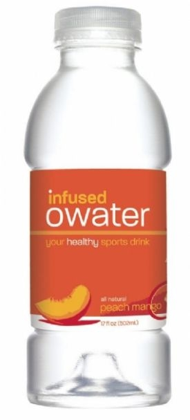 infused owater: Peach Mango with Antioxidants
