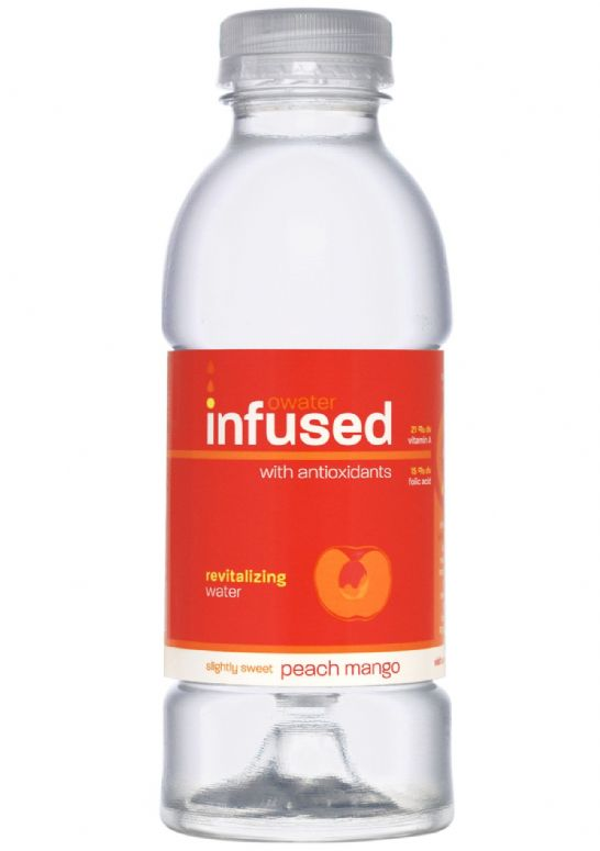 infused owater: