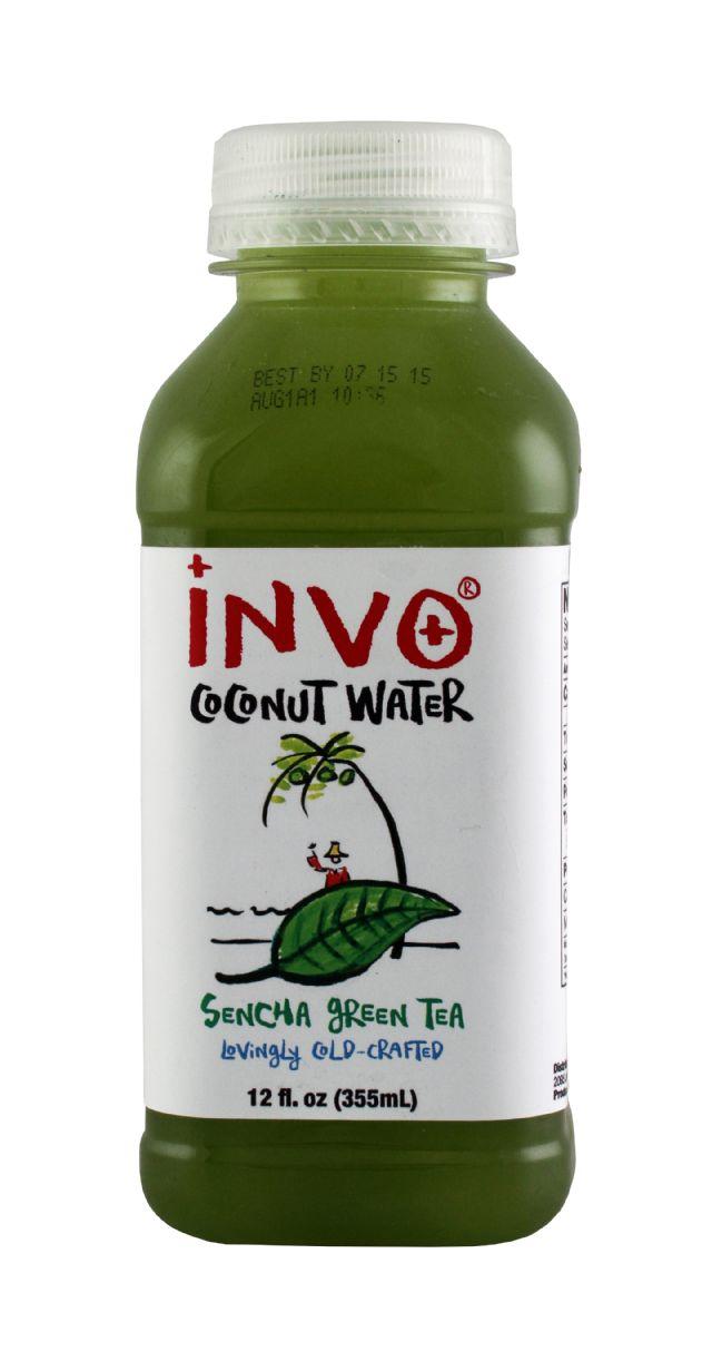 INVO Coconut Water: Invo SenchaGreen Front