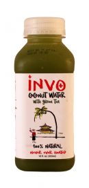 INVO Coconut Water: Invo GreenTea Front