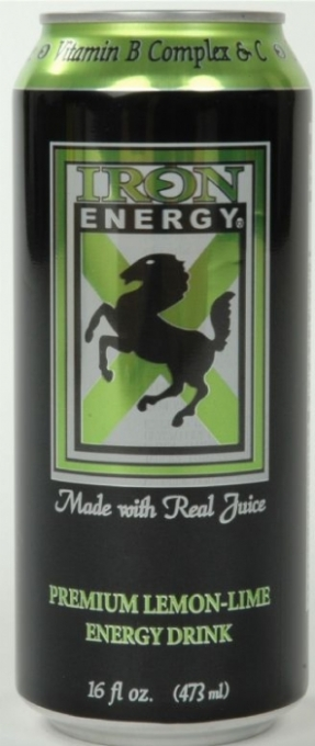 Iron Energy: Iron Lemonlime new can