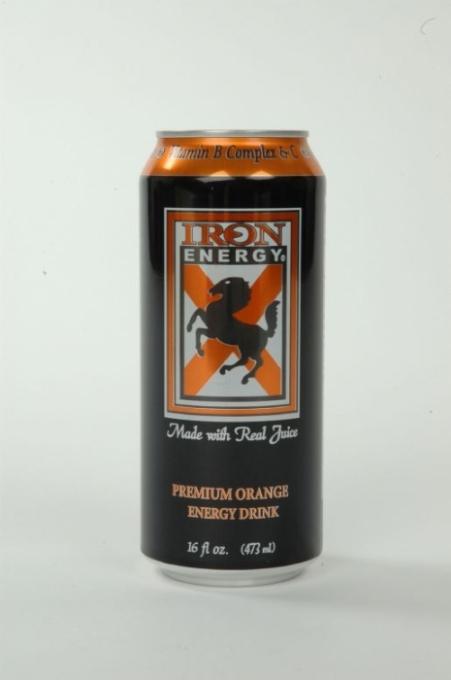 Iron Energy: iRON oRANGE NEW CAN