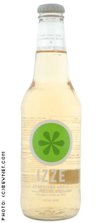 IZZE Sparkling Fruit Juice: sparklingapple.jpg
