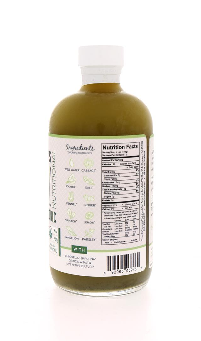 Jacob's Raw Tonics: Jacobs PuerGreens Facts