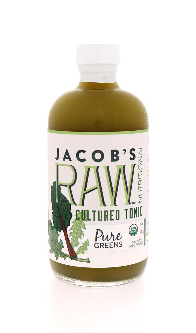 Jacob's Raw Tonics: Jacobs PuerGreens Front