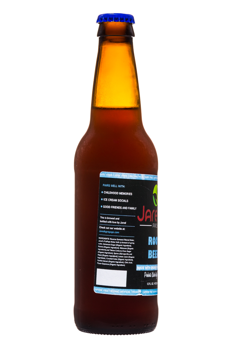 Jared's Probiotics : Jareds-Probiotics-12oz-RootBeer-Facts