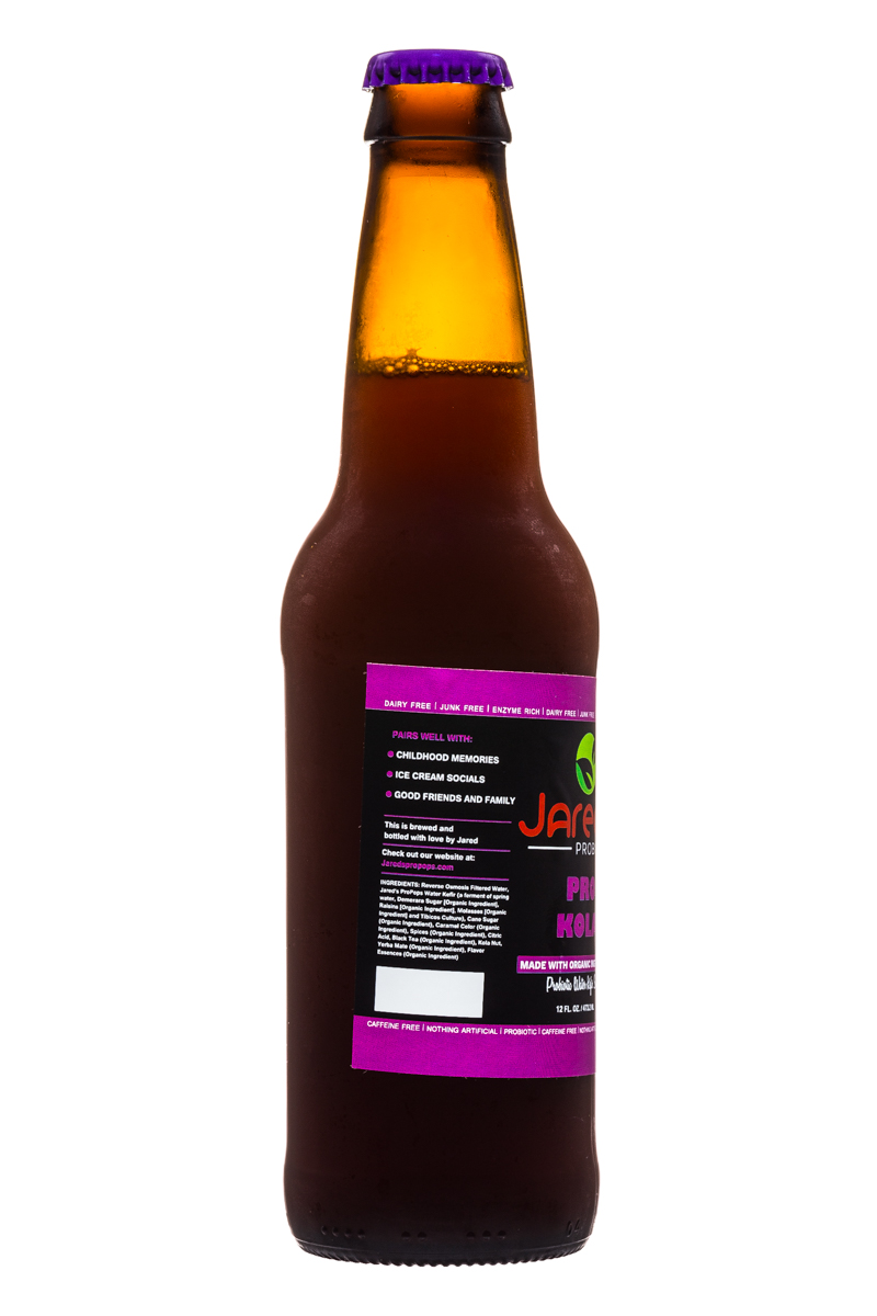 Jared's Probiotics : Jareds-Probiotics-12oz-ProKola-Facts