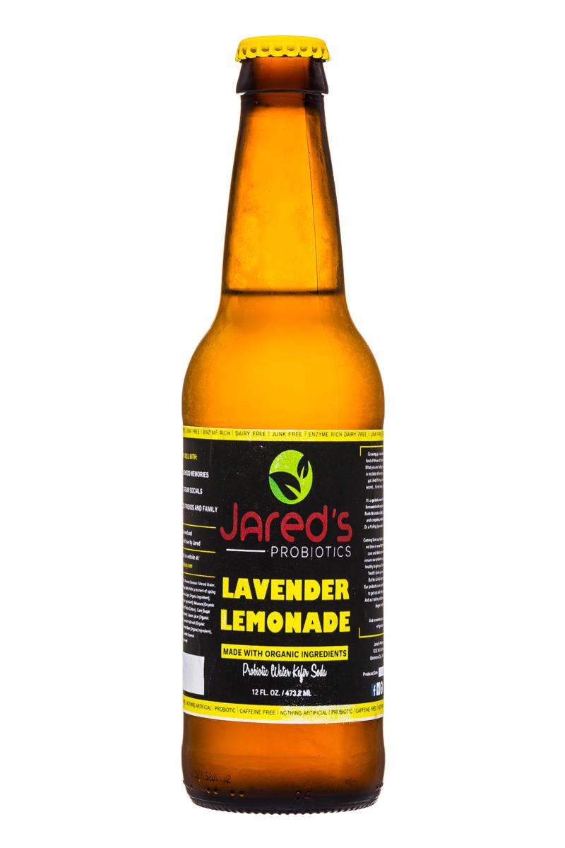 Jared's Probiotics : Jareds-Probiotics-12oz-LavenderLemonade-Front