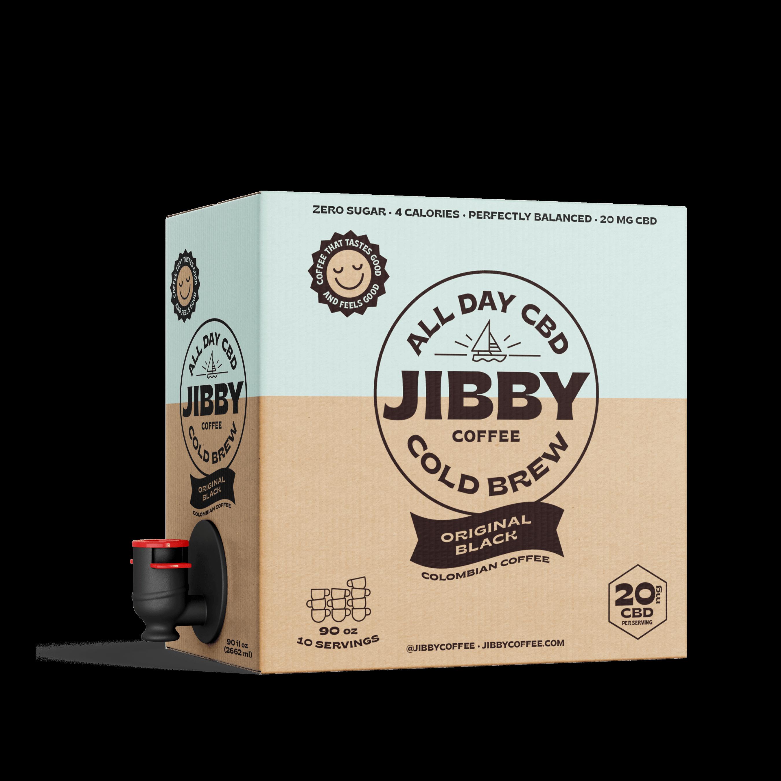 Jibby CBD Cold Brew Coffee On Tap