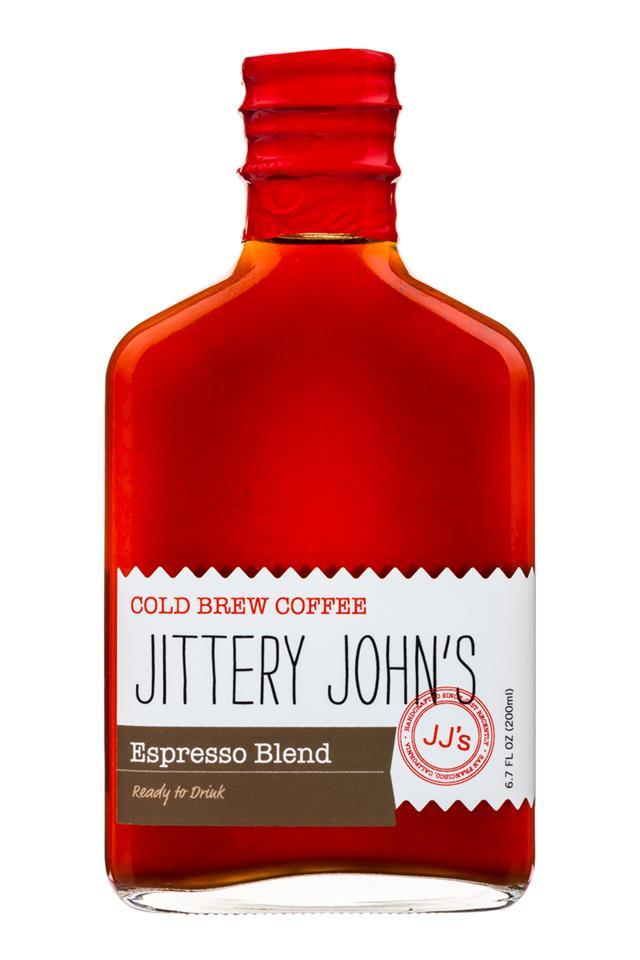 Jittery John's Cold Brew: JitteryJohns-EspressoBlend-Front