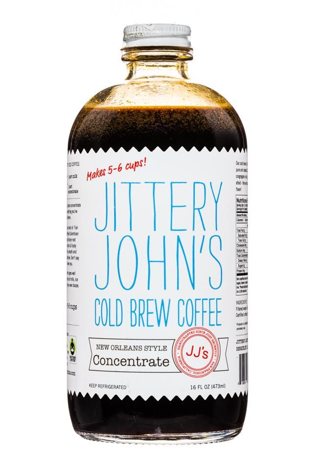 Jittery John's Cold Brew: JitteryJohns-NewOrleansStyle-Concentrate-Front